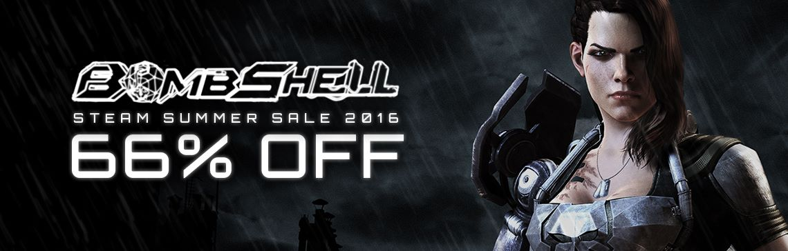 Save 66% on Bombshell at Steam Summer sale!