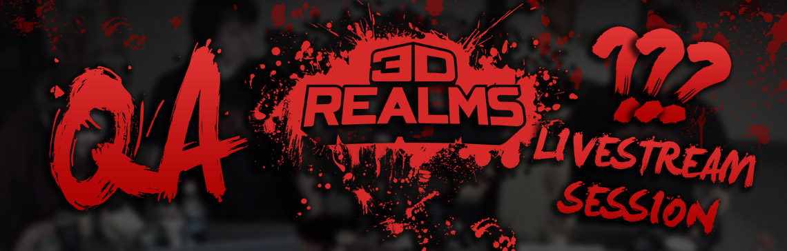 3D Realms Launch QA Session