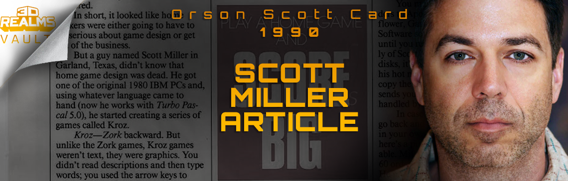 Orson Scott Card & Kroz