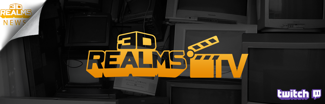 We're Live! Welcome to 3D Realms TV