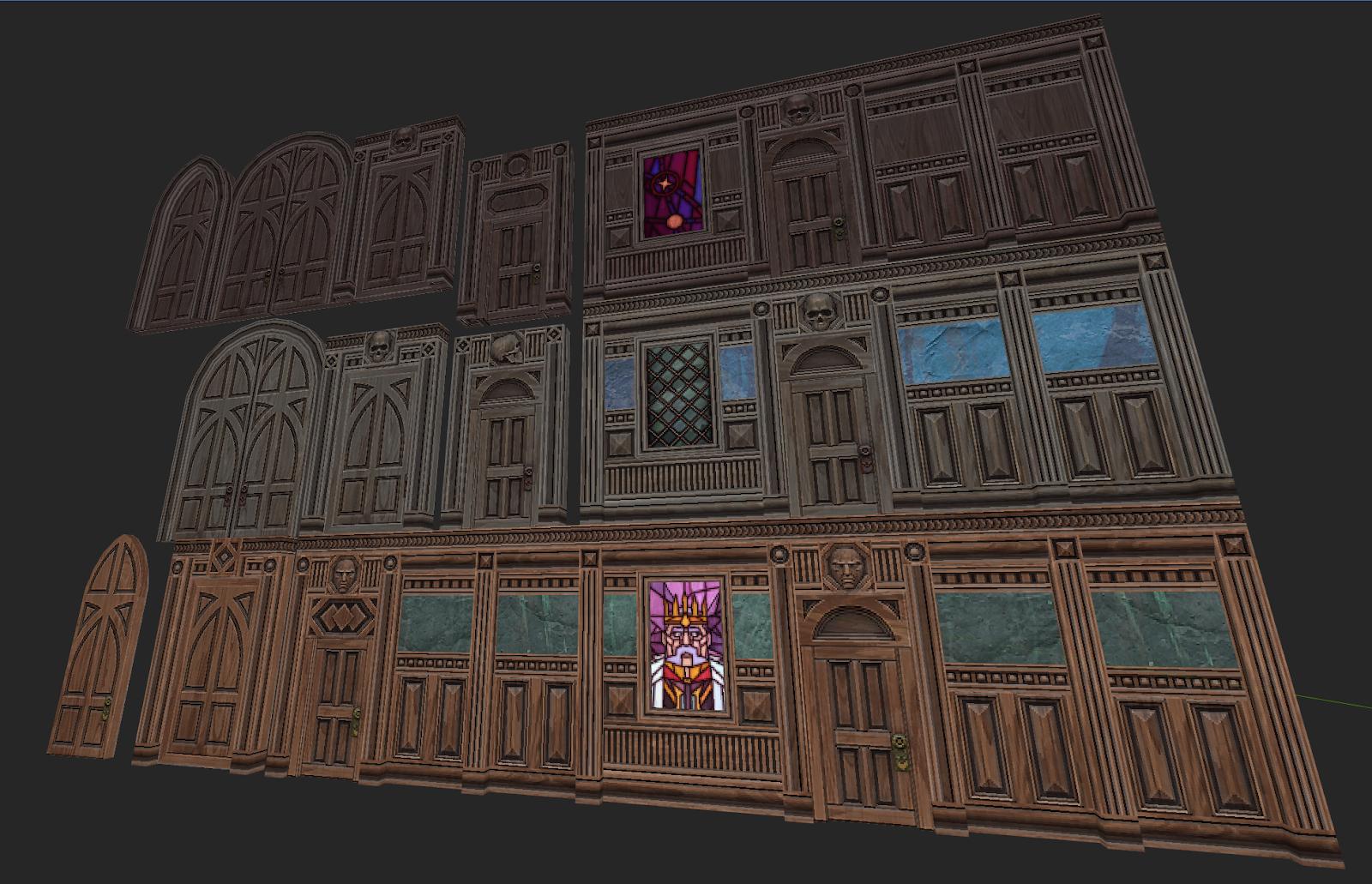 GRAVEN Dev. Blog #4: Making Procedural Pixel Textures for GRAVEN