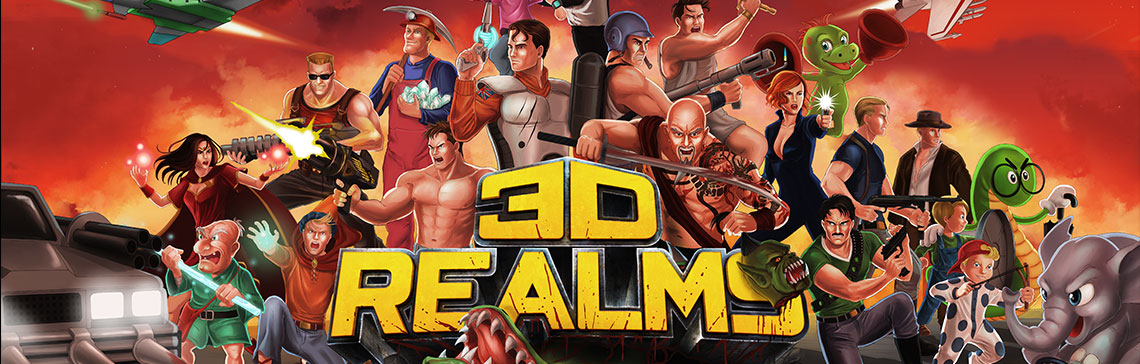 3D Realms is back. Anthology now available!