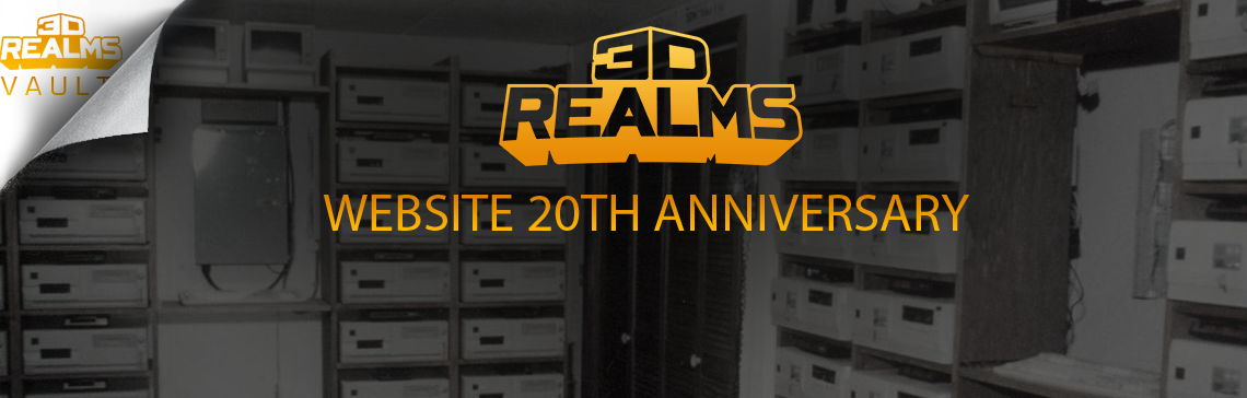 3D Realms Website Turns 20!