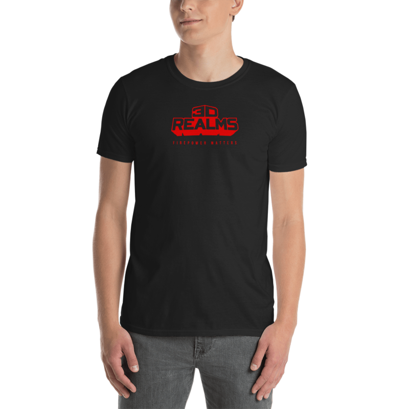 3D Realms Red Short-Sleeve Unisex T-Shirt - L
