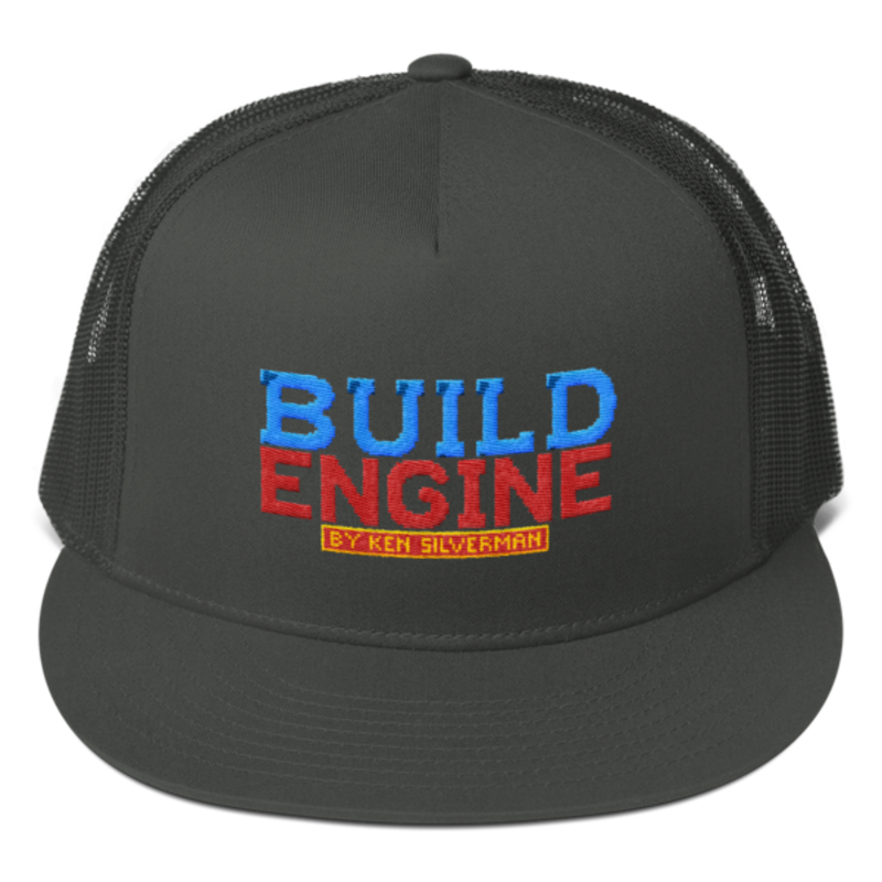 BUILD ENGINE Mesh Back Snapback