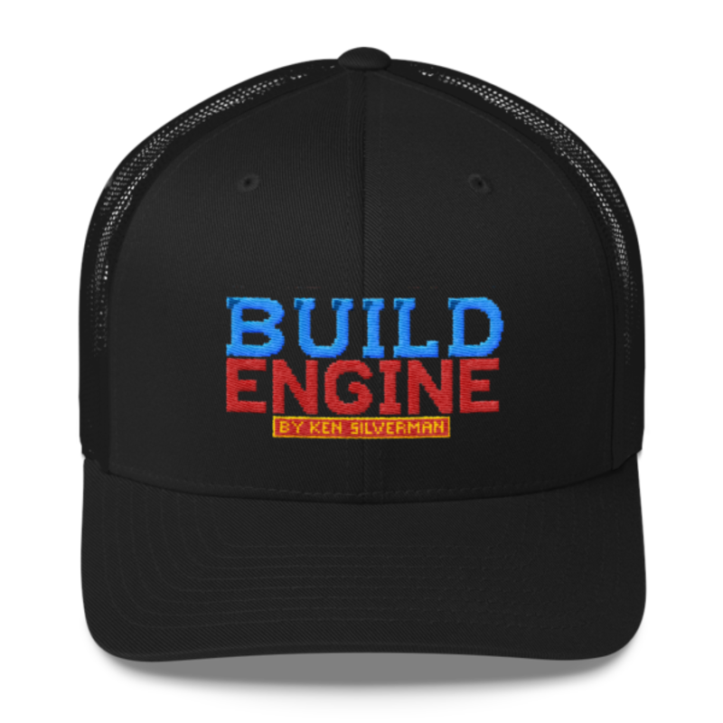 BUILD ENGINE Trucker Cap