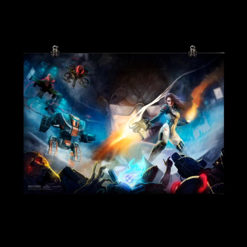 Ion Fury Madman 70x100 cm Poster