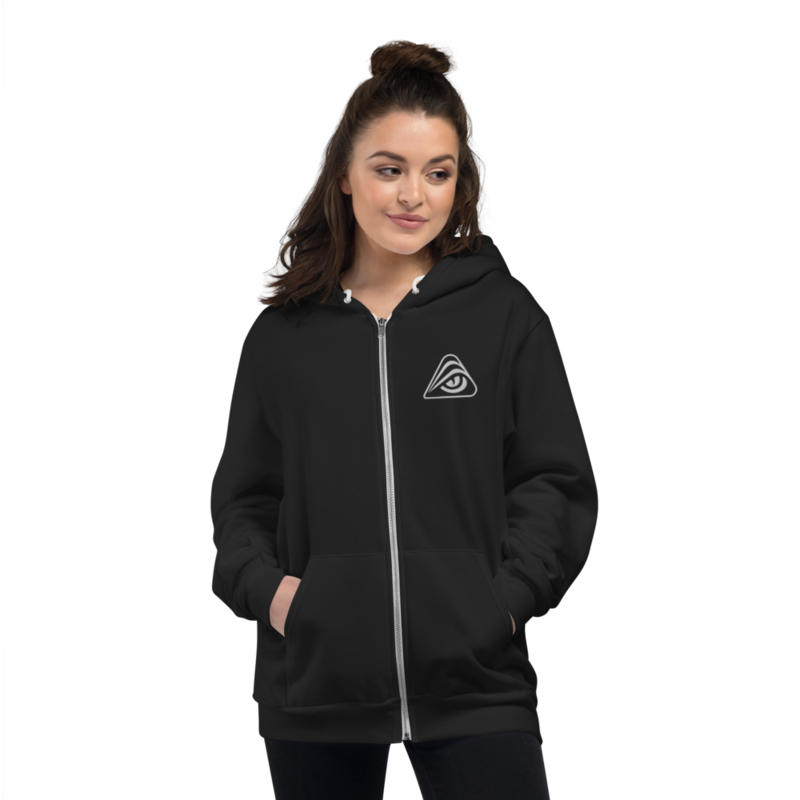 Realms Deep Unisex Zip-up Hoodie - M