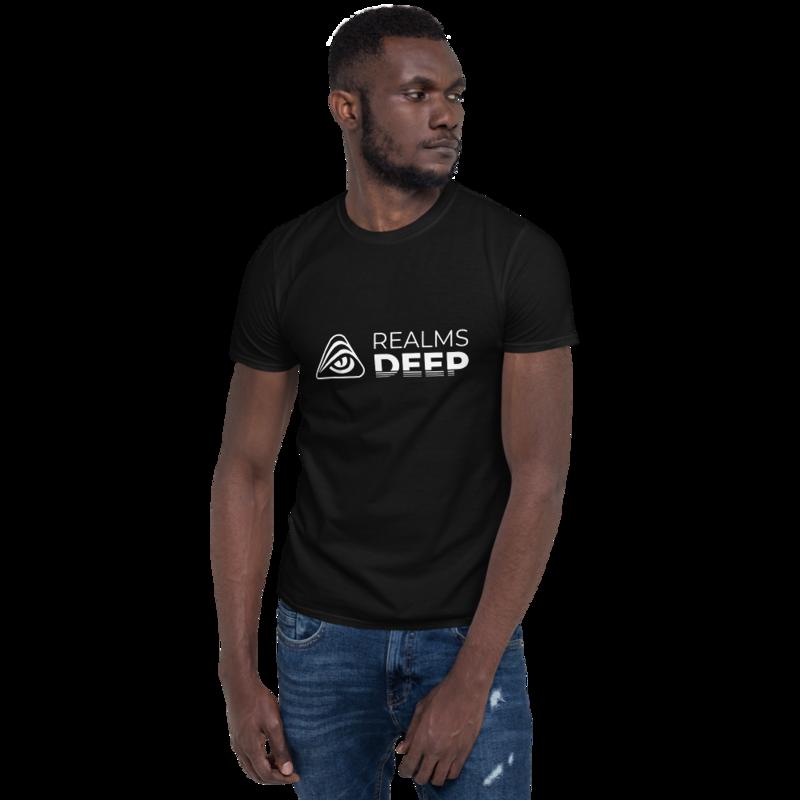 Realms Deep Short-Sleeve Unisex T-Shirt - M