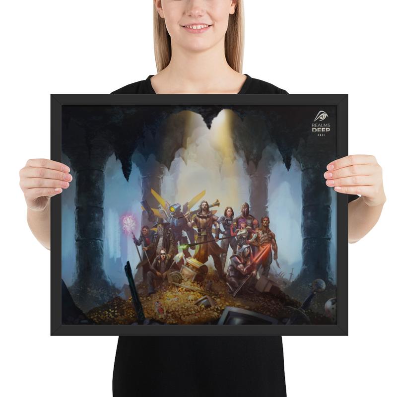 Realms Deep 2021 Framed Poster