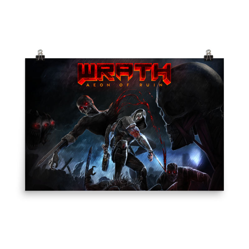 "WRATH: Aeon of Ruin 24x36"" Poster"