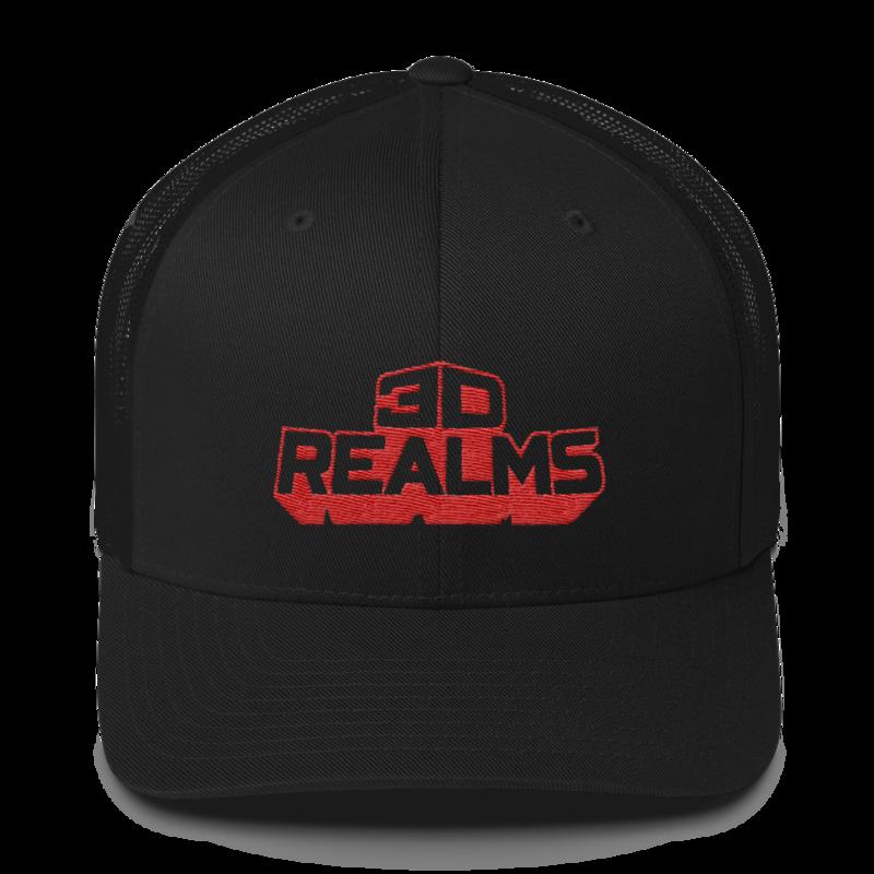 3D Realms Trucker Cap