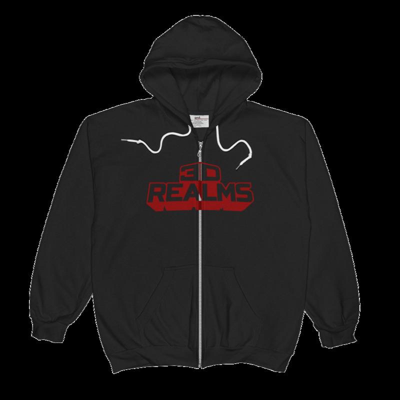 3D Realms Unisex  Zip Hoodie - S