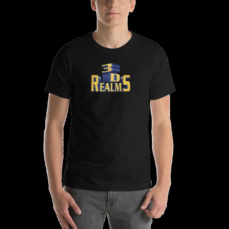 Classic 3D Realms Unisex T-Shirt - S