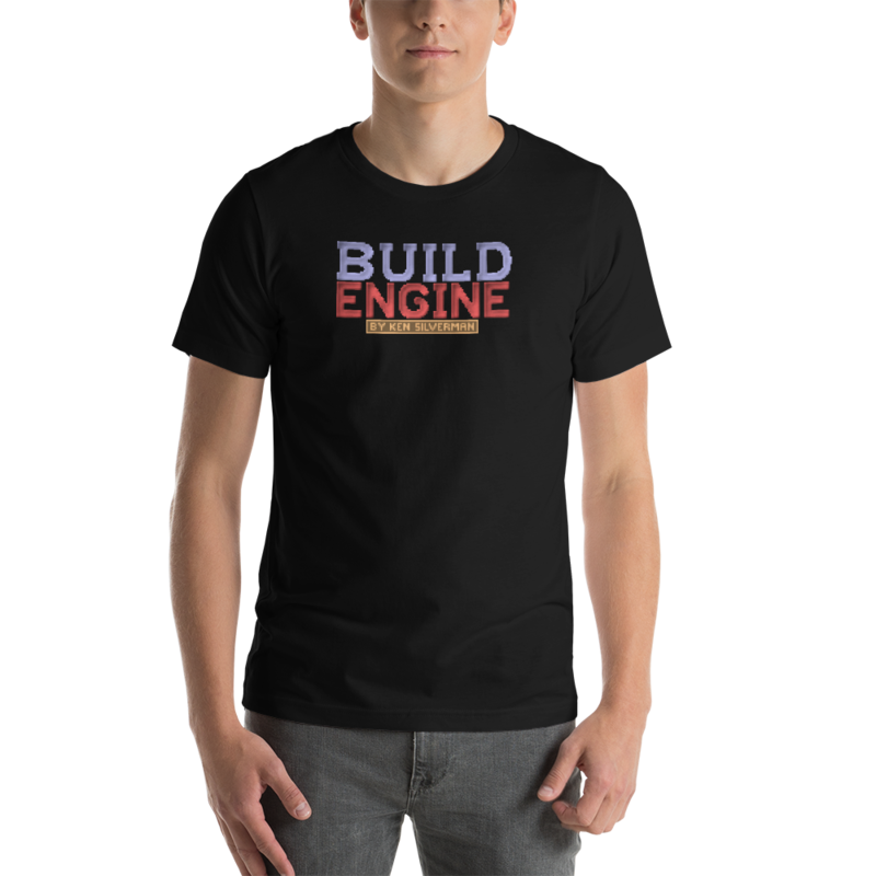 BUILD Engine Unisex T-Shirt - L