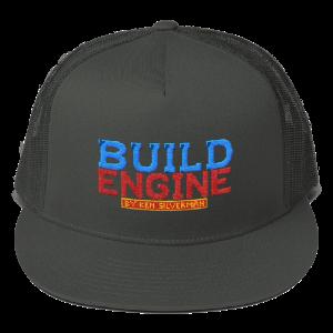 BUILD ENGINE Mesh Back Snapback