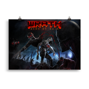 WRATH: Aeon of Ruin 70x100 cm Poster