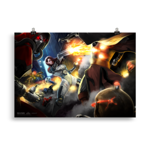 Ion Fury Frenzy 70x100 cm Poster