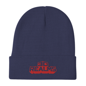 3D Realms Embroidered Beanie