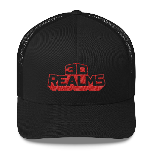 3D Realms Trucker Cap