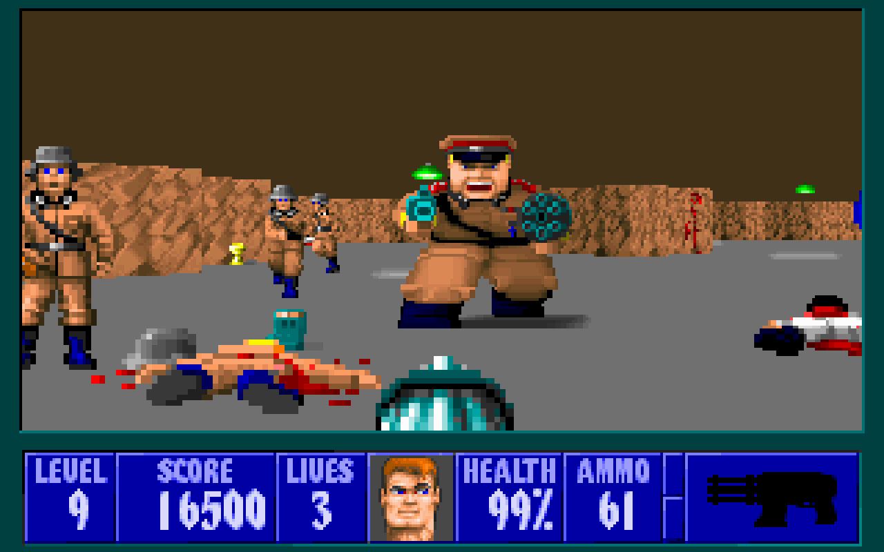 Wolfenstein 3d 3d realms firepower matters for Wolfenstein 3d