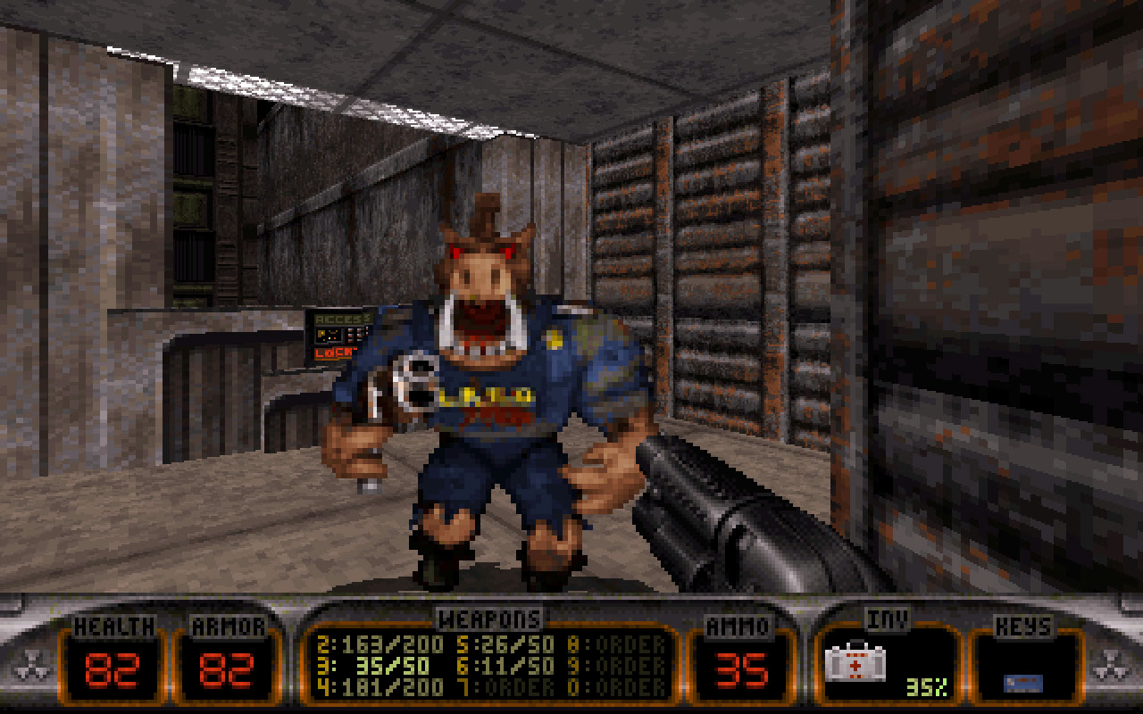 Windows 7 Duke Nukem 3D 1.0 full