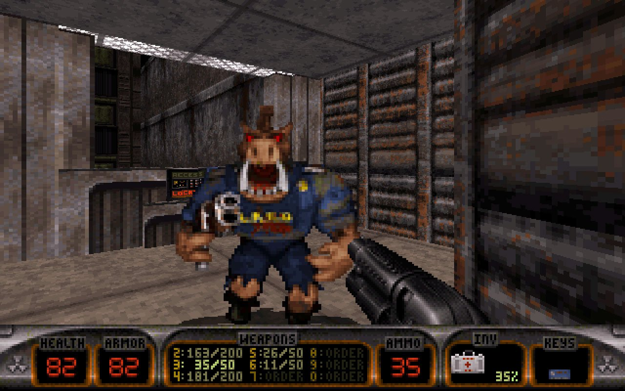 Full Duke Nukem 3D screenshot