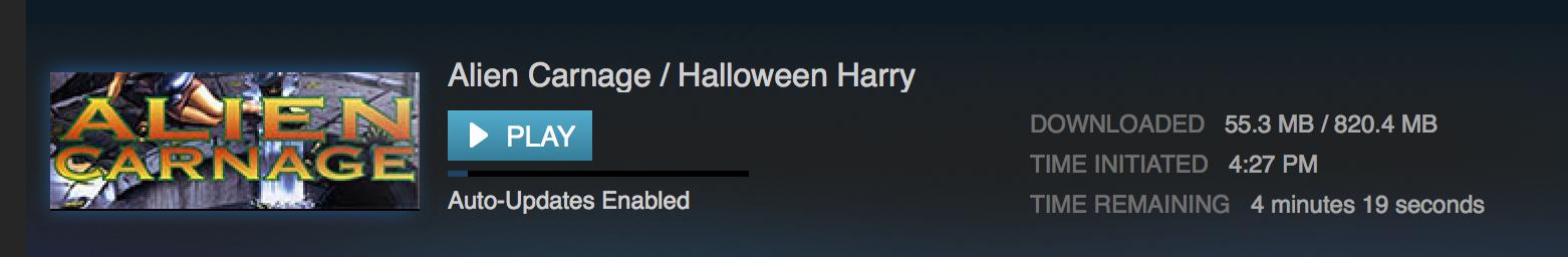 3D Realms Anthology Update - Alien Carnage / Halloween Harry