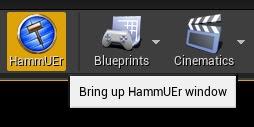 Bring up HammUEr window