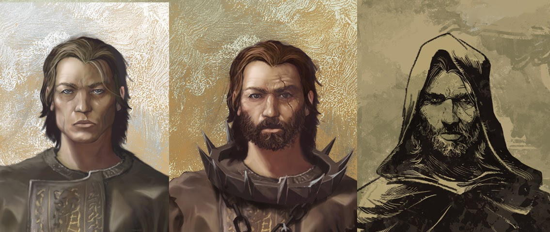 One of the many concepts for GRAVEN - the evolution of the hero