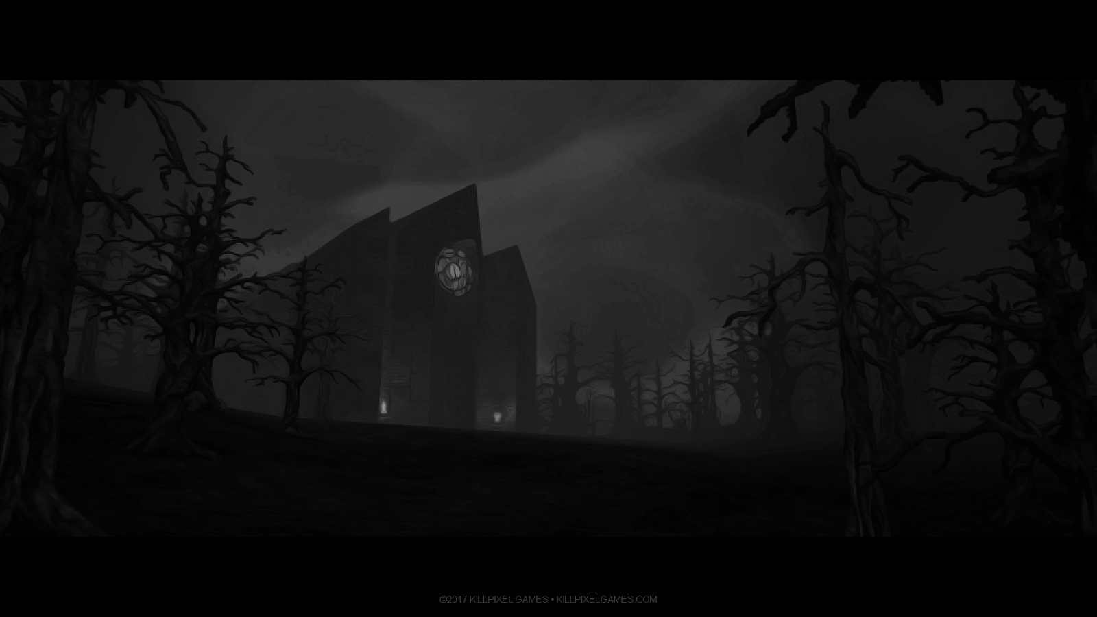 The Priory's chapel is one of the oldest concepts from WRATH. It is almost identical in the final game.
